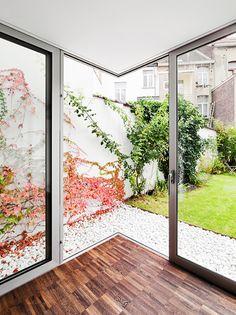 Creuse House, Renovation and Extension, Schaerbeek, Belgium, by M Architecture     DesignRulz.com
