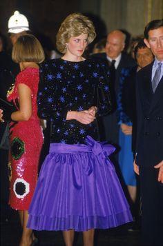 - 1985 - Taffeta Dresses - Princess Diana -