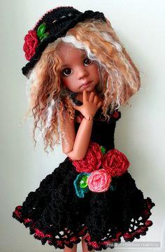 Праздничный наряд для кукол Kaye Wiggs / BJD - шарнирные куклы БЖД / Бэйбики. Куклы фото. Одежда для кукол