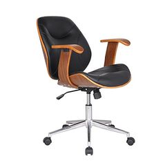 Adeco Bentwood Adjustable Swivel Home Office Mobile Desk Chairs with Wood Arm Rest Caster Wheels PU leather Cushion Seat Back with Chrome Plated Finish Steel Base Hydraulic Lift Brown Walnut Black For Sale https://bestofficedeskchairsreviews.info/adeco-bentwood-adjustable-swivel-home-office-mobile-desk-chairs-with-wood-arm-rest-caster-wheels-pu-leather-cushion-seat-back-with-chrome-plated-finish-steel-base-hydraulic-lift-brown-walnut-black-f/