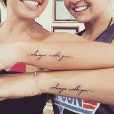 Which is the best friend tattoos? tattoo quotes tattoos tattoos tattoo fonts for men meaningful quotes quotes about life quotes latin quotes motivational Dr Tattoo, Bestie Tattoo, Tattoo Kits, Tattoo Goo, Tattoo Hand, Tattoo Flash, Mom Daughter Tattoos, Mother Tattoos, Tattoos For Daughters