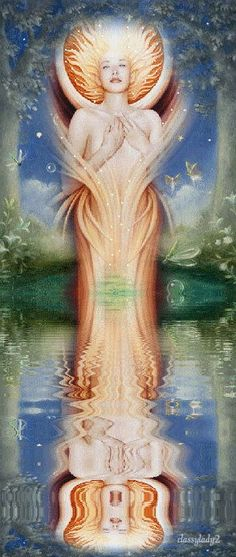 """""""I Am One With Creation. All There Is Is Light. I Am A Light Being And So I Shall Remain. There Is No Time."""""""