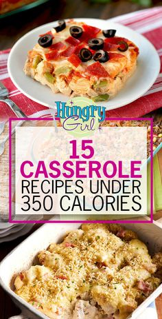 Healthy Casserole Recipes, Healthy Eating Recipes, Healthy Cooking, Entree Recipes, Ww Recipes, Cooking Recipes, Recipies, Hungry Girl Recipes, Skinny Recipes