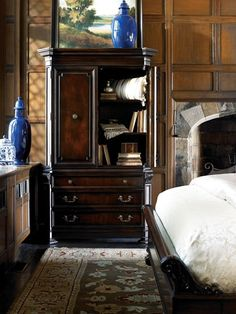 Bedroom Furniture, Bedroom Decor, Thomasville Furniture, Brompton, Time Games, Telling Time, Bedrooms, Collection, Home Decor