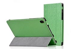 8 Inch Folio PU Leather Lenovo S8-50 Tab Tablet PC. Popular Luxury Silk Folding Stand Cover Leather Case with Sleep Function and 7 Color Options (Green) http://www.amazon.com/dp/B00P293H40/ref=cm_sw_r_pi_dp_TeRwvb0M1G42J