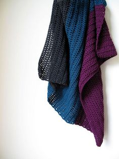 Simple Baby Blanket by One Flew Over..., via Flickr