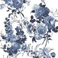 amrapali - indigo fabric | Designers Guild