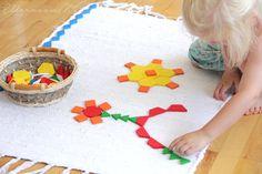 Eltern vom Mars: Körbe, Schalen & Spielteppiche - ein Kinderzimmer nach Montessori