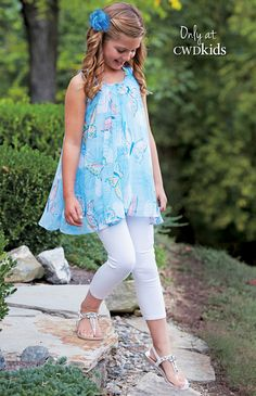 Tween Fashion, Little Girl Fashion, Toddler Fashion, Cute Little Girl Dresses, Girls Dresses, Girls Clothing Stores, Girls Tunics, I Love Girls, Dress Sewing Patterns