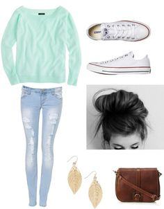 Causal outfit ;: by betruebeyou123 ❤ liked on Polyvore