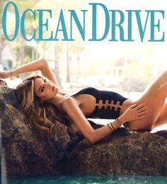 Martha Hunt for Ocean Drive magazine - July 2015