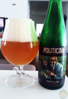 22-Aug-2015: The Politician by Brouwerij Hof ten Dormaal. Part of their Taste Lab Limited edition series. A saison ipa? Intriguing. And tasty! The aroma is more funk. The flavor a nice blend of funk and bitter, a little bit of sweet. I like it! #ottbeerdiary