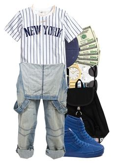 """""""Untitled #952"""" by trinsowavy ❤ liked on Polyvore featuring Polo Ralph Lauren, Vans and Crafted"""