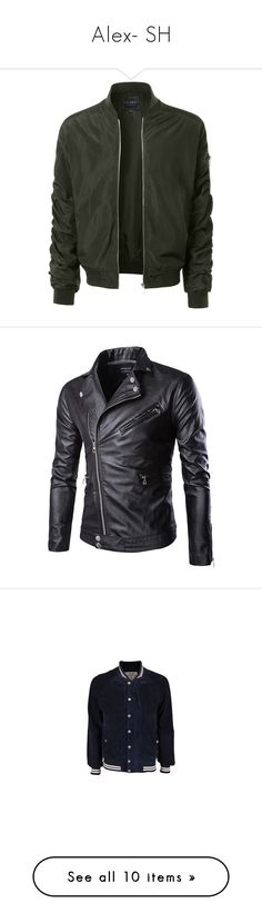 """""""Alex- SH"""" by inestrindade on Polyvore featuring men's fashion, men's clothing, men's outerwear, men's jackets, jackets, boy, men, mens nylon windbreaker jackets, mens zip up jackets and mens light weight jackets"""