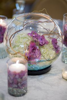 A delicate fairy-like center piece. #FlowerStationNj