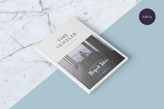 Time Traveler Magazine by Ally & Co. on @creativemarket