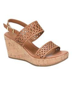 Light Brown Indira Leather Sandal