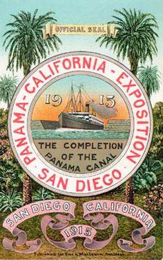 Panama-California Exposition ~ San Diego ~ 1915-1916 postcard