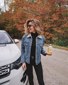 Fall Street Style Outfits Ideas For Women Leather Jacket Outfits 2020 Cute Fall Outfits, Fall Winter Outfits, Autumn Winter Fashion, Trendy Outfits, Winter Outfits For School, Women Fall Outfits, Fall Outfit Ideas, Tumblr Fall Outfits, October Outfits