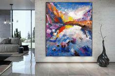 Contemporary Art Original Painting Abstract. Large Abstract image 2 Large Abstract Wall Art, Large Artwork, Extra Large Wall Art, Large Painting, Canvas Wall Art, Painting Abstract, Painting Canvas, Texture Art, Custom Art
