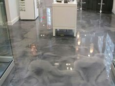 #epoxyfloor #titaniumepoxy #decorativeconcrete #epoxy #metallicepoxy