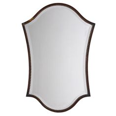 Abra Vanity Mirror - Bronze   The curves of this mirror will add dimension and novelty to the living room walls  #goodhousekeeping and #happyroom