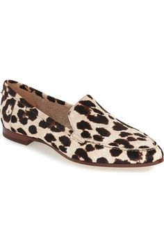 kate spade new york 'carima' genuine calf hair loafer flat (Women) available at #Nordstrom