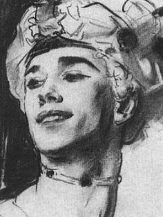 Vaslav Nijinsky  appeared mild mannered in public, but onstage was like a chameleon, able to physically transform himself into the various characters of his ballet repertoires.