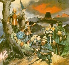 The Fellowship of the Ring, by Angus McBride