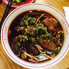 牛肉麺(ニュウロウミェン)▷永康牛肉麺