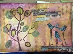 Yours Artfully: Another Journal Page http://yoursartfully.blogspot.co.uk/2013/10/another-journal-page.html