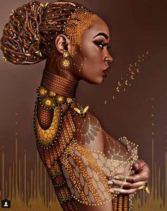 New African American Black Art Africa 68 Ideas Art Black Love, Black Girl Art, Black Is Beautiful, Art Girl, Beautiful Artwork, African Girl, African American Art, African Beauty, African Women