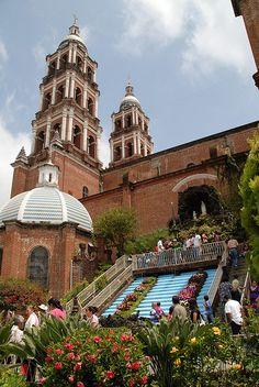 San Juan Nuevo Michoacan | Church of San Juan Nuevo Visited in 1993