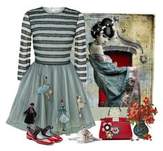 """""""Untitled #537"""" by whiteflower7 ❤ liked on Polyvore featuring Waverly, RED Valentino, Marc Jacobs and Fendi"""
