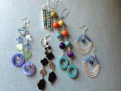 All these and 120 more in my book Earrings 101.