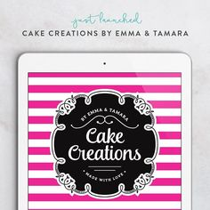 The write up for this mouth-watering new logo for Cake Creations By Emma & Tamara (@etcakecreations) is up on the blog!!! Loved doing this logo for this baking duo. See the whole brand at http://ift.tt/2dtcAXS (or click the link in my bio) #cakelife #GFbrandstyling #logodesign