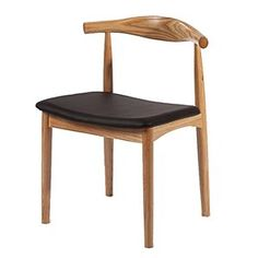 Lombard Side Chair   Side Chair   Wood Chair   Dining Chair   Modern Dining  Chair   Chair With Leather Seat