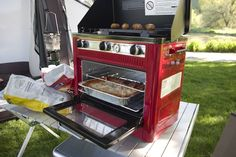 Camp Chef Outdoor Camp Oven with Grill | OutdoorCooking.com