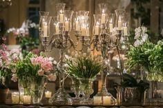 candelabros - casamento clássico