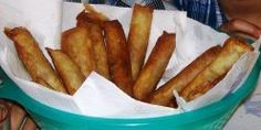 Lumpia - Filipino Egg Rolls - CHANGES:add 3/4 cup shredded potatoes,replace seasoned salt with soy sauce (add until salty enough and you can taste the soy sauce)
