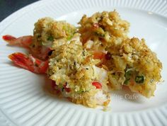 Stuffing like no other - A wonderful crab stuffing I use for flounder, lobster tails and shrimp and with a little addition of shrimp with the crabmeat, I use it for deviled crabs too.