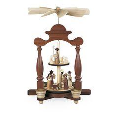 Mueller - Pyramid Nativity Scene - 2 Platforms - Wooden Duck Shop