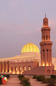 Grand Mosque in Muscat, Oman. Sultan Qaboos Grand Mosque in Muscat, Oman , Dubai, Abu Dhabi, Al Alam Palace, Holiday Destinations, Travel Destinations, Sultan Qaboos Grand Mosque, Family Friendly Holidays, Sultanate Of Oman, Temples
