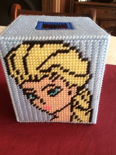 Frozen tissue box cover by Janellicraftz on Etsy