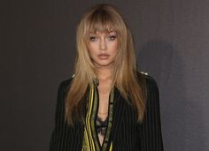 Gigi Hadid Trips on Runway at Paris Fashion Week   Gigi almost falls when closing out Thierry Mugler's show modeling his Womenswear Spring/Summer 2017 collection. Gigi Hadid slipped on the catwalk during a Paris Fashion Week show on Saturday October 1. The blonde stunner wobbled on her high heels but she was saved from a catastrophic fall. Having walked countless runways she quickly steadied her footing and resumed her walk without missing a beat. The incident happened when she modeled…