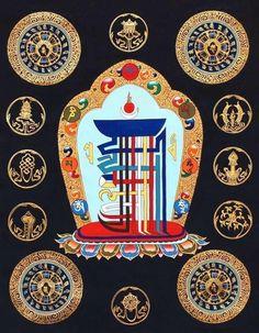 A short recitation of the Kalachakra mantra Tibetan Mandala, Tibetan Buddhism, Tibet Art, Vajrayana Buddhism, Thangka Painting, Spiritus, Buddha Art, Mandala Art, Sacred Geometry