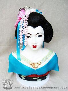 Geisha Cake.