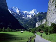 Lauterbrunnen, Bern, Switzerland.