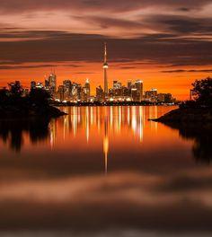 Orange Crush, New York Skyline, Celestial, Sunset, Travel, Outdoor, Instagram, Outdoors, Viajes