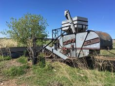 This derelict farm equipment use to be a great help for doing something. Now I think it is a piece of art. Something To Do, Things To Think About, Colorado, Art Pieces, Fun, Aspen Colorado, Artworks, Art Work, Skiing Colorado